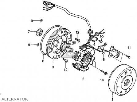 156204 How Test Stator Ignition Pulse Generator Pick Up additionally Hisun Atv Wiring Diagram likewise Honda Trx 90 Wiring Diagram besides Honda Accord Vtec Engine Diagram1994 moreover Suzuki Lt250r Carburetor. on 1986 honda atv wiring diagram