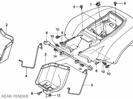 honda trx90 fourtrax 90 1993  p  usa parts list partsmanual partsfiche Automotive Wiring Harness Wiring Harness Connectors