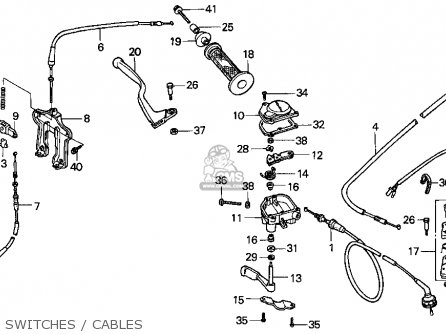 Yamaha Carburetor Parts Diagram