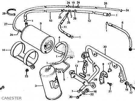 Car Frame Foam furthermore Partslist besides  on 1986 honda vf1000r