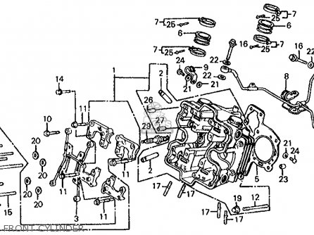 252122907605 in addition VF1000R Clutch together with Honda Xl250r 1986 Usa Parts Lists further Honda 1986 Vf750f Interceptor likewise Honda Xr250r 1986 Usa Parts Lists. on 1986 honda vf1000r