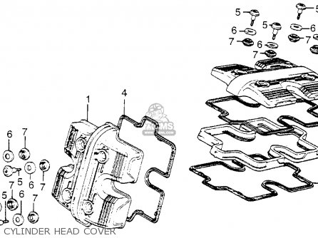 Honda Vf1100c Magna 1983 d Usa Cylinder Head Cover