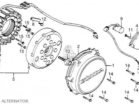 Honda Vf1100c V65 Magna 1983 d Usa Alternator