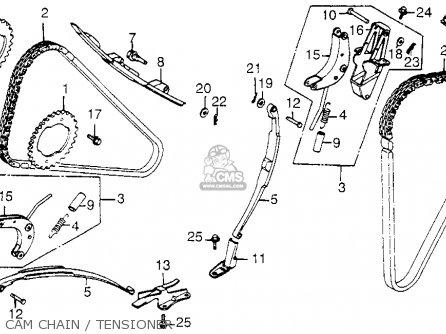 Honda Vf1100c V65 Magna 1983 d Usa Cam Chain   Tensioner