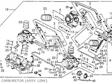 Honda Vf1100c V65 Magna 1983 d Usa Carburetor assy  Link