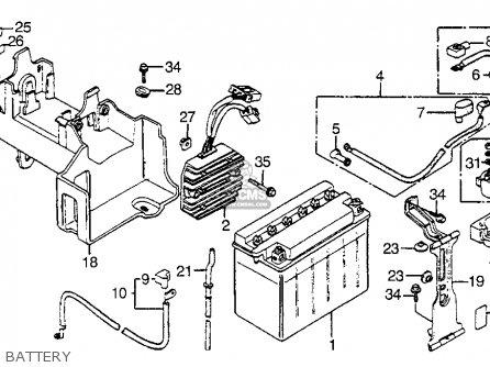 Honda Vf1100s Sabre 1984 e Usa Battery