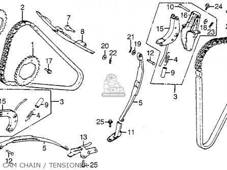 Honda Vf1100s Sabre 1984 e Usa California Cam Chain   Tensioner