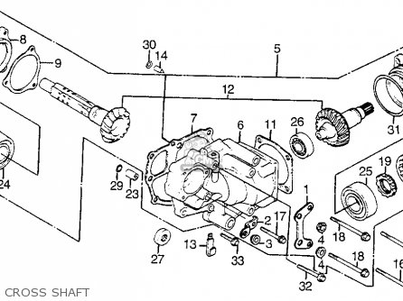 Honda Vf1100s Sabre 1984 e Usa Cross Shaft