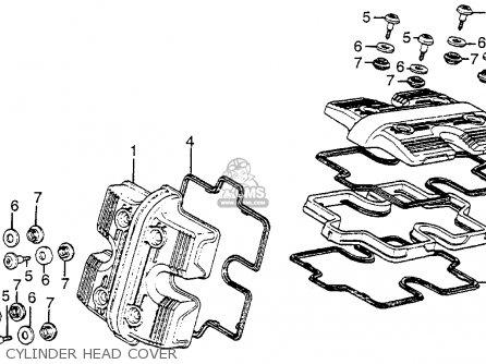 Honda Vf1100s Sabre 1984 e Usa Cylinder Head Cover