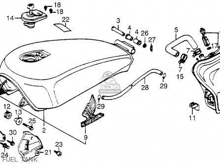 Owners Manual Honda v30 500cc on