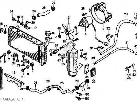 Honda Vf500f 500 Interceptor 1986 g Usa Radiator