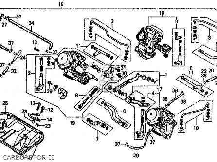 Honda Vf500f Interceptor 1985 F Usa California Parts Lists And