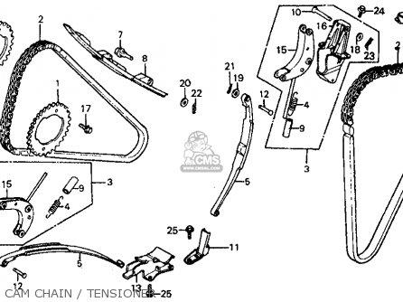 Honda Vf700c Magna 1984 e Usa Cam Chain   Tensioner