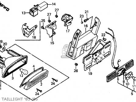 Buyang 110cc Wiring Diagram