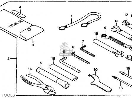 1986 Honda Gl1200 Goldwing Wiring Diagram Schematic. 1986 ... on