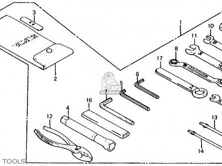 Honda Vf700s Sabre 1985 f Usa California Tools