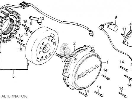 Honda Vf750c Magna 1982 c Usa Alternator