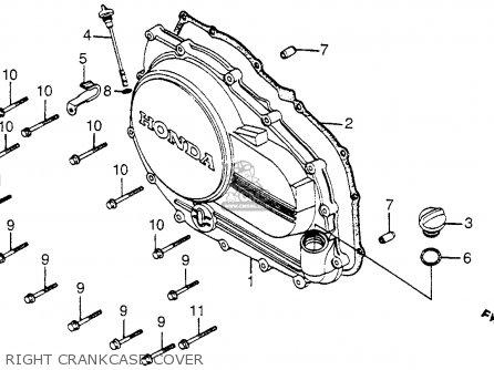 Honda Vf750c Magna 1982 C Usa Parts Lists And Schematics