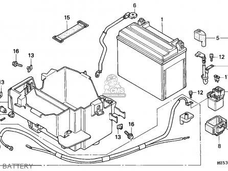 Honda VF750C MAGNA 1996 (T) ENGLAND parts lists and schematics