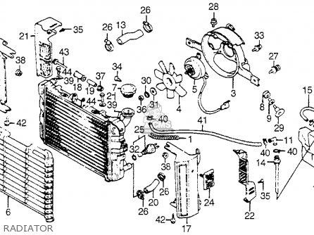 Honda Vf750c V45 Magna 1983 Usa Radiator