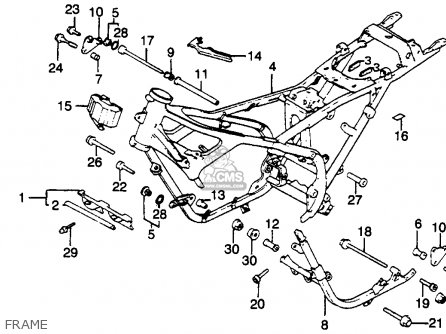 honda magna parts catalog