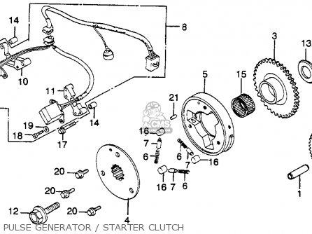 honda vf750f interceptor 1983  d  usa parts list