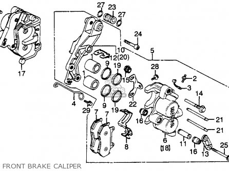 Honda Shadow Vt700 Engine Diagram