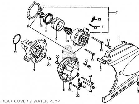 Honda Vf750s Sabre 1982 C Usa Parts Lists And Schematics