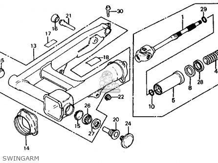 Honda Vf750s Sabre 1983 D Usa Parts Lists And Schematics