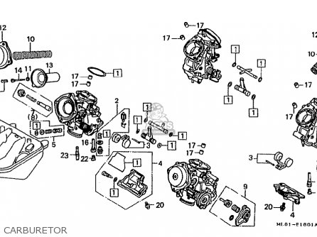 Honda vfr400riii nc24 102 1988 j japan parts lists and schematics honda vfr400riii nc24 102 1988 j japan carburetor cheapraybanclubmaster Choice Image