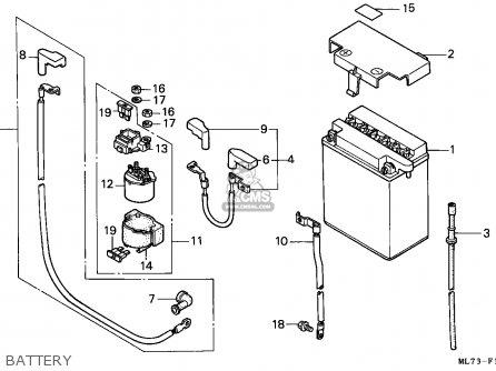 Honda Vfr750f 1988 England   Mkh Battery