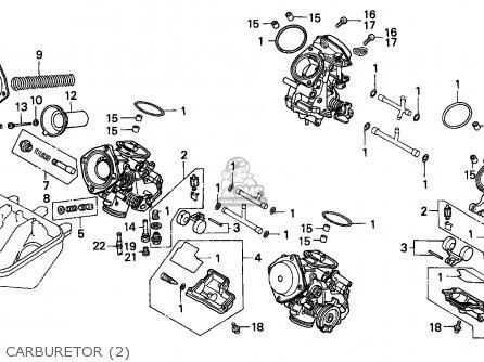 Honda Vfr750f 1988 j England Mkh Carburetor 2