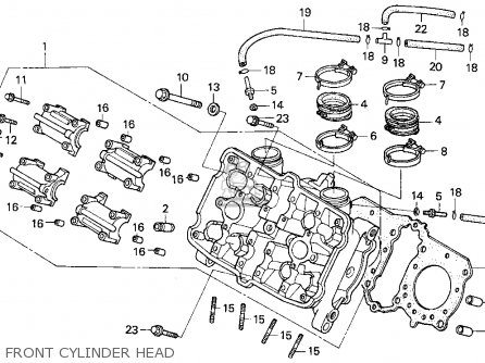 kawasaki motorcycle wiring harness with Harley Davidson Cylinder Head Diagram on Honda Cb350f And Cb400f Wiring Diagram And Routing likewise Harley Davidson Cylinder Head Diagram in addition Virago Wiring Diagram in addition Honda Cb350f And Cb400f Wiring Diagram And Routing together with Suzuki Atv Diagrams Cdi.
