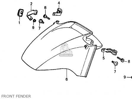 Honda vfr 750 parts manual
