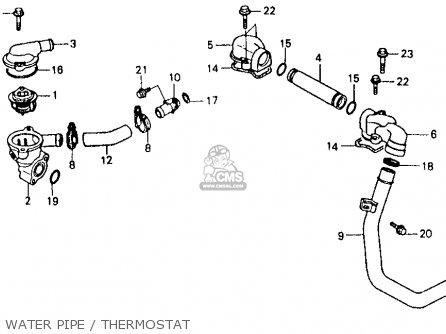 Honda Vfr750f 1986 750 Interceptor Usa Parts Lists