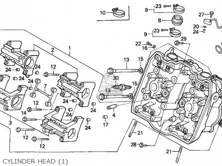 Honda Vfr750f Interceptor 1988 j England   Mkh Cylinder Head 1