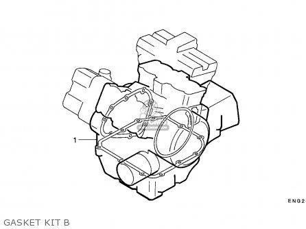 Honda Vfr750f Interceptor 1988 j England   Mkh Gasket Kit B