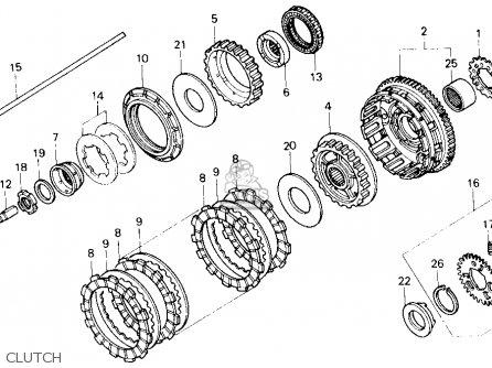 Wiring Diagram Cb550