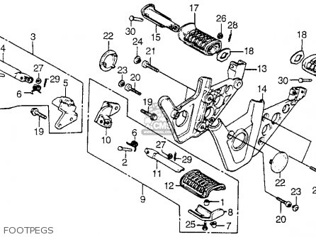 Wiring Diagram Honda Shadow 1100