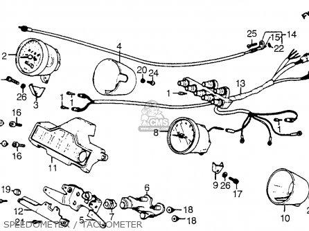 Honda Vt1100c Shadow 1100 1986 g Usa California Speedometer   Tachometer
