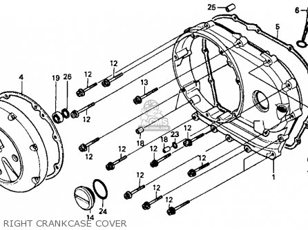 Honda Vt1100c Shadow 1100 1987 H Usa California Parts Lists And