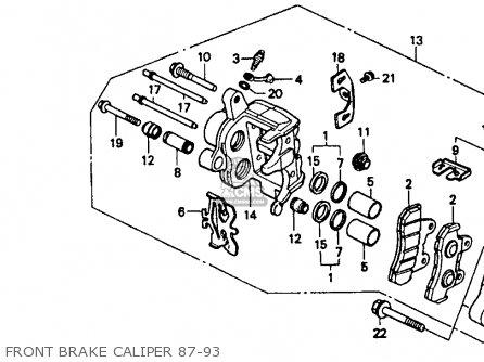 honda vt1100c shadow 1100 1989 k usa california parts. Black Bedroom Furniture Sets. Home Design Ideas