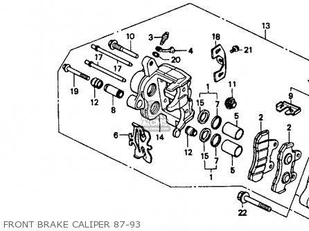honda st1100 wiring diagram with Honda Vt1100c Shadow 1100 1993 Usa Front Brake Caliper 87 93 on Honda St1100 Engine Diagram moreover 85 Honda Rebel Wiring Diagram further 3 Cylinder Cars List as well Honda Vt1100c Shadow 1100 1993 Usa Front Brake Caliper 87 93 besides Xr650r Wiring Harness.