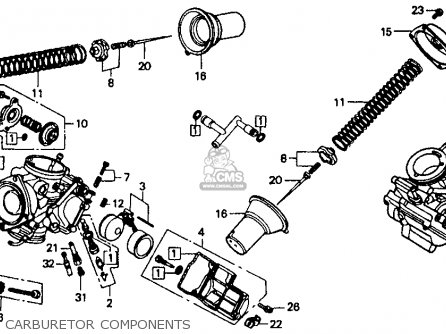 47475 1985 Honda Shadow Carburetor