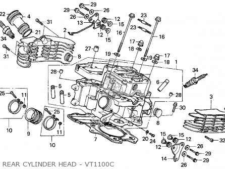 Honda Spree Engine Diagram