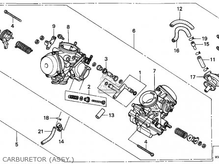 Honda Goldwing 1100 Engine Rebuild Diagram