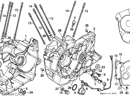 Honda    VT1100C    SHADOW    1994  R  ITALY  KPH parts lists and schematics