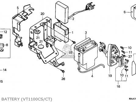1995 honda shadow vt 1100 wiring diagram free