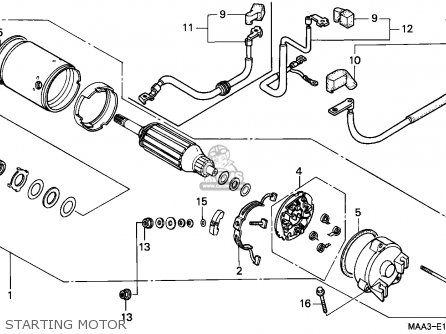 1100 Honda Shadow Wiring Diagram Html
