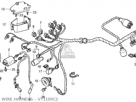 1986 Honda Shadow Vt1100c Wiring Diagram: Honda Rebel Cmx250c Wiring Diagram At Ariaseda.org